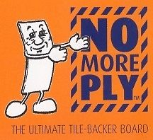 NO MORE PLY-Tile Backer Board 1200x600 X 50 Pallet Deal