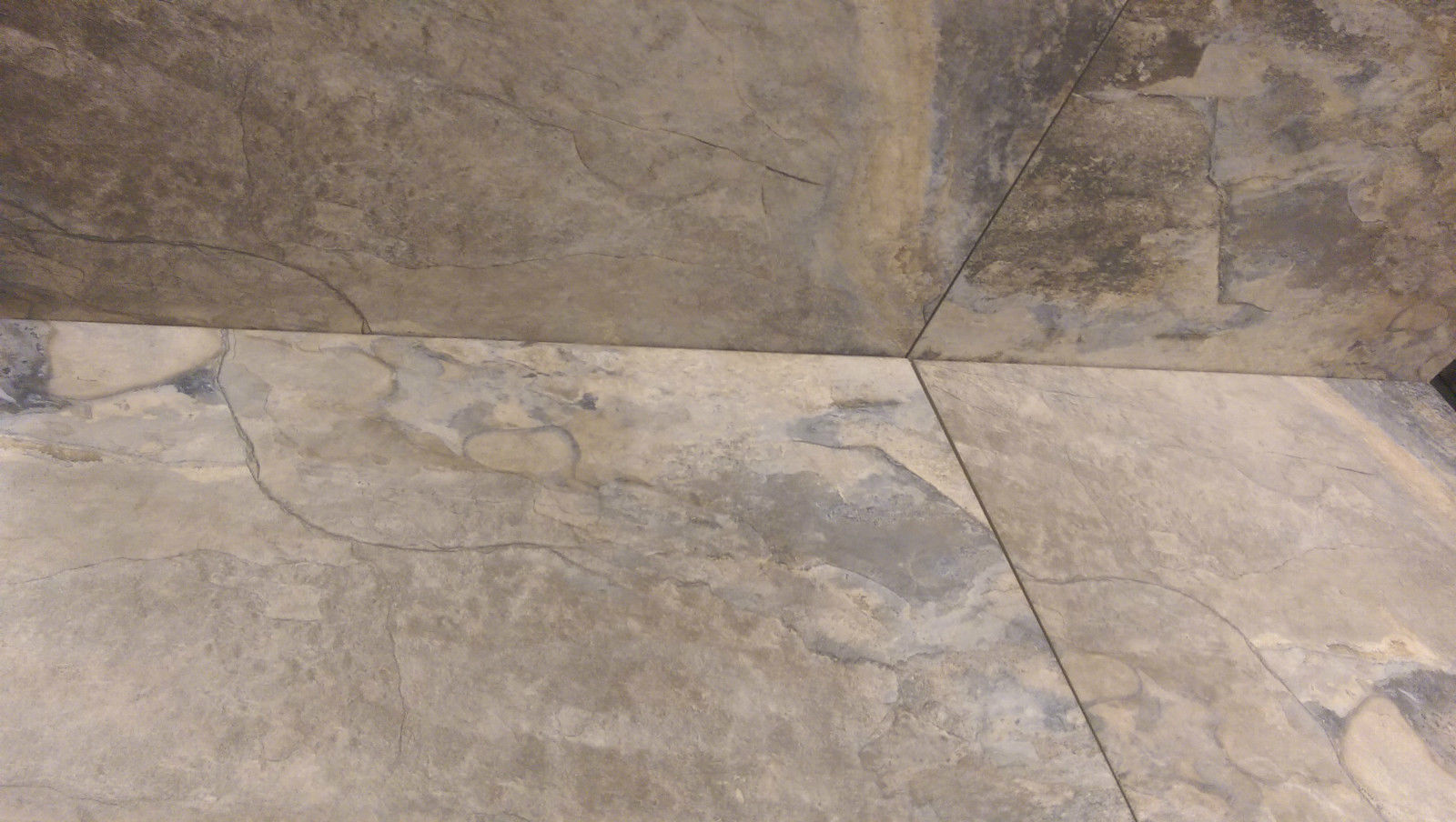 Pennsylvania slate effect porcelain floor tile deal 60 x 40 inc adhesive grout Porcelain tile flooring