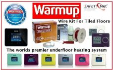 Warmup DWS Underfloor Wire Heating Kit for Tiled Floors Including Thermostat